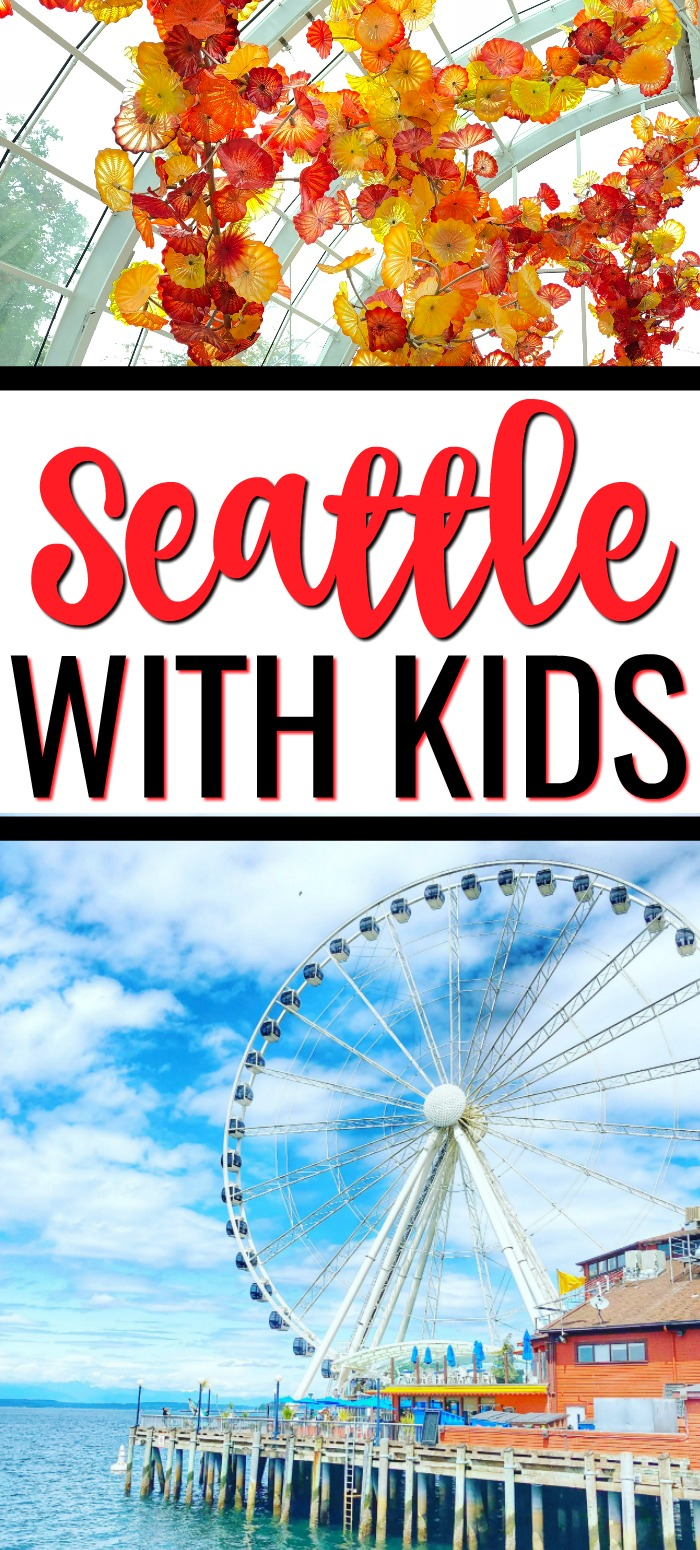 Things to do in Seattle with Kids - Chihuly Garden & Glass and Seattle Great Wheel