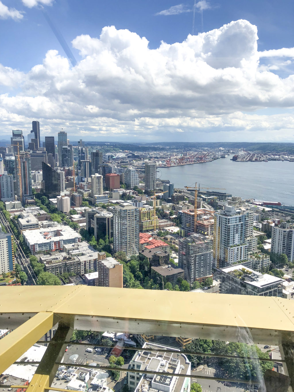 Must see Seattle attraction - view from the Space Needle