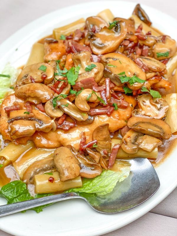Real Italian Chicken Marsala from La Mela