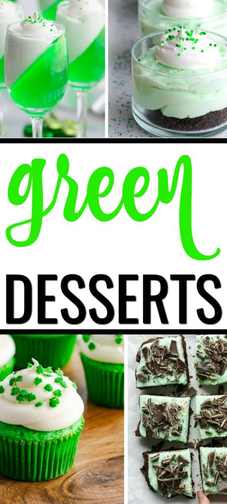 St Patty's Day is here. Celebrate with these easy with these Green Desserts for St Patrick's Day! These green food ideas will help you create a fun and festive holiday for the entire family.