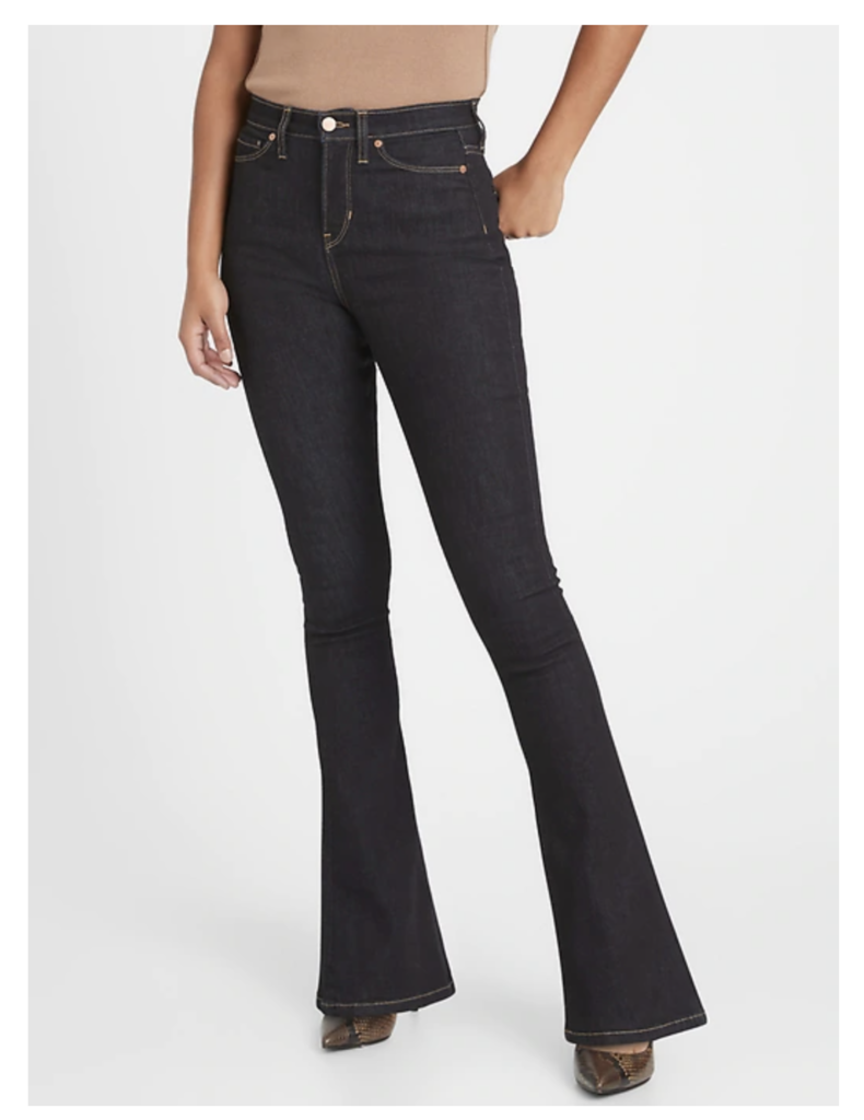 Banana Republic Curvy High-Rise Flare Jean