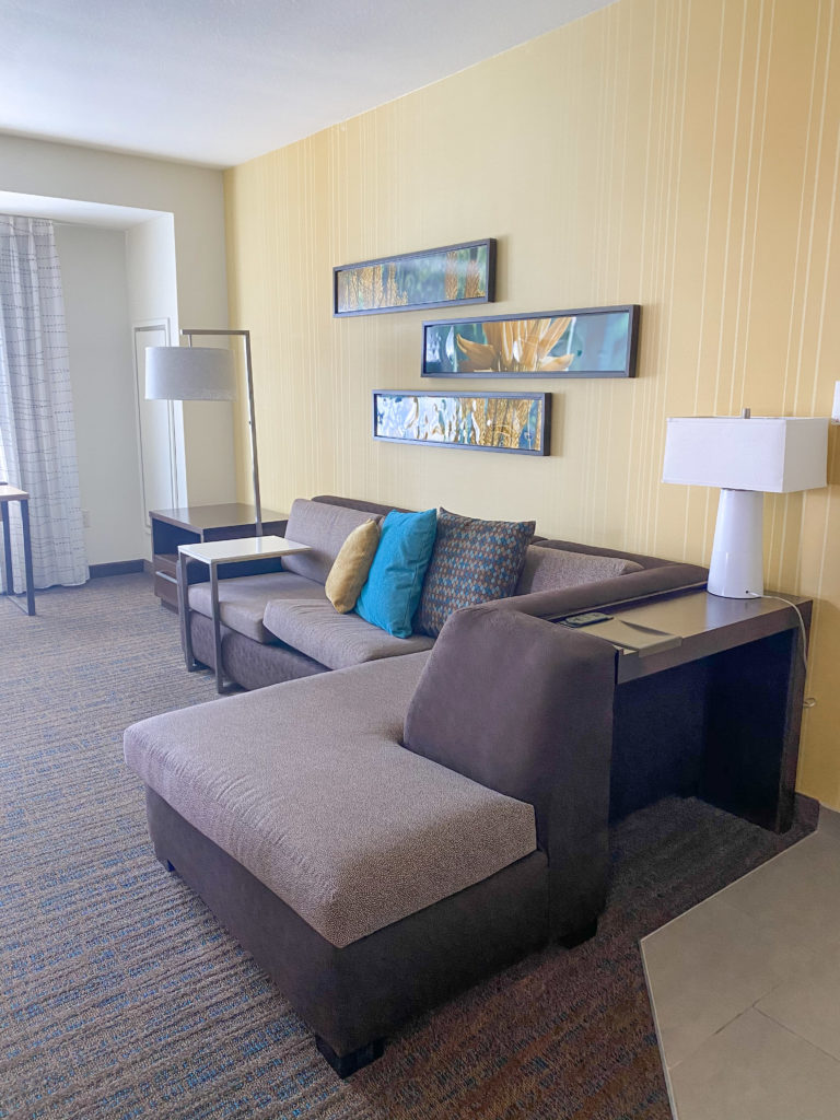 Living Area at Residence Inn Tempe: Downtown University