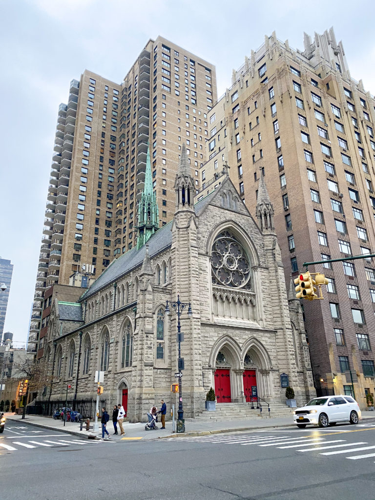 church in new york city