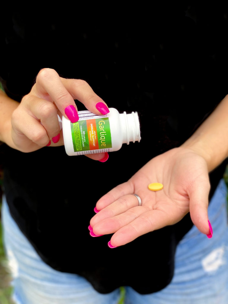 garlique immune support supplement